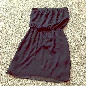 Express strapless dress !